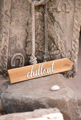 Drogowskaz drewniany weselny