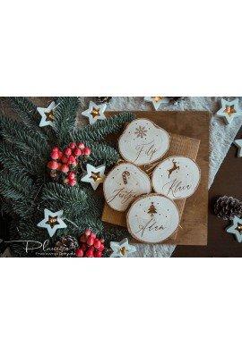 Plaster drewna Bożonarodzeniowy
