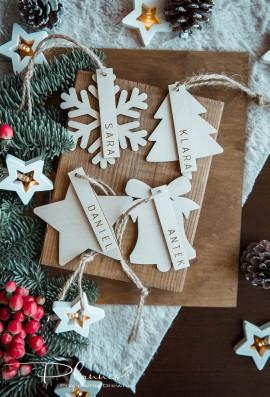 Zawieszki an prezenty grawerowane
