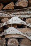 Wieszaki rustykalne