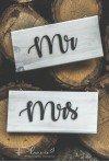 Tabliczki Mr Mrs