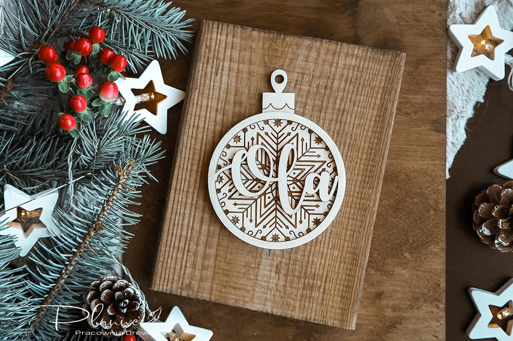 Drewniane Święta Bożego Narodzenia – czyli ozdoby z drewna duże i małe!