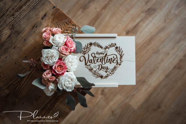 Drewniana Miłość – czyli drewniane dekoracje na Walentynki
