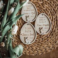 Dzień dobry!  To będzie piękny dzień! 🌿🐇 Nasze jajka wielkanocne z Waszym tekstem.  Jeszcze przez 8 dni przyjmujemy zamówienia z gwarancją dostawy przed Wielkanocą.   #wielkanoc #wielkanocnedekoracje #wielkanocneinspiracje #easter #easterdecor #easterdecoration #jajka #pisanki #zajączek #zajaczekwielkanocny #handmade #handmadewithlove #wood #wooddecor #home #homedecor